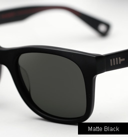 Mosley Tribes Branston sunglasses - Matte Black