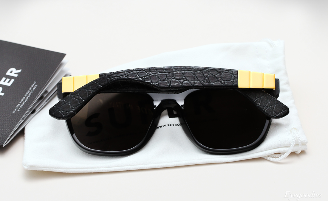 Super Flat Top Capo Gianni sunglasses