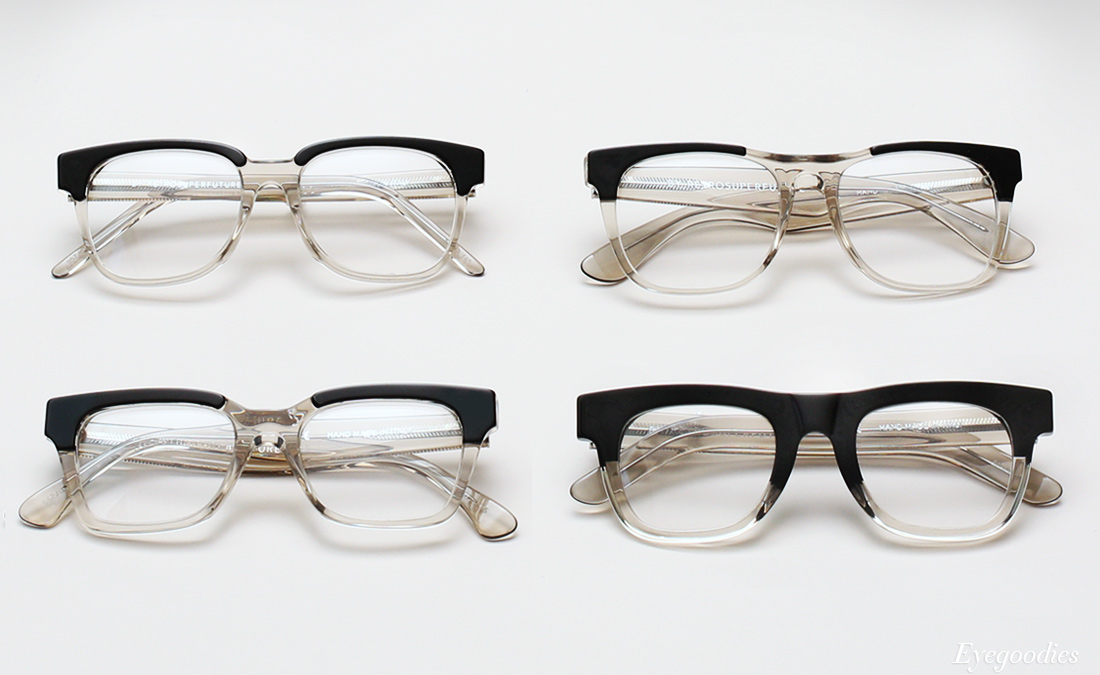 Super Repertoire Black eyeglasses