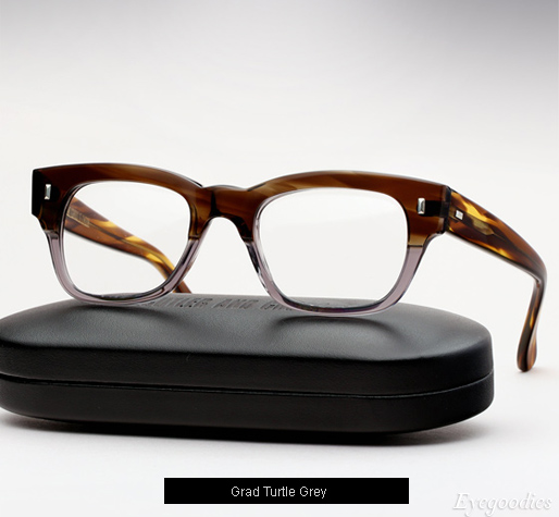 Cutler and Gross 0772 Eyeglasses - Grad Turtle Grey