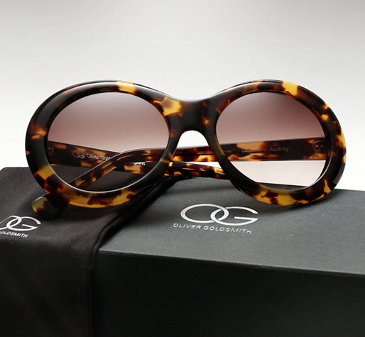 Oliver Goldsmith Audrey sunglasses - Leopard