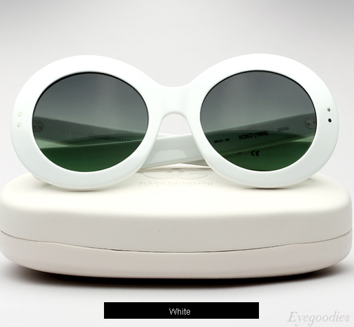 Oliver Goldsmith Koko sunglasses - White