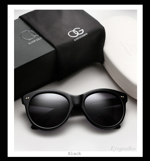 Oliver Goldsmith Manhattan sunglasses - Black