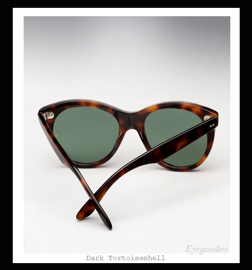 Oliver Goldsmith Manhattan sunglasses - Dark Tortoiseshell