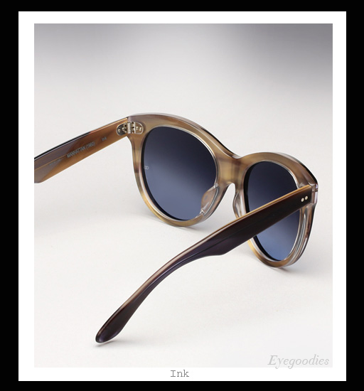 Oliver Goldsmith Manhattan sunglasses - Ink