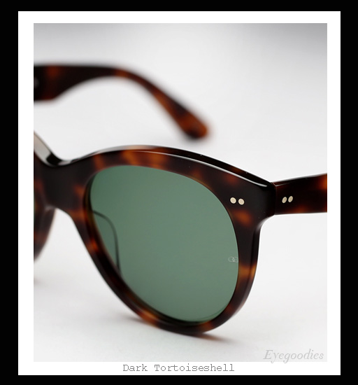 0d7df5e03d0 ... Oliver Goldsmith Manhattan sunglasses - Dark Tortoiseshell ...