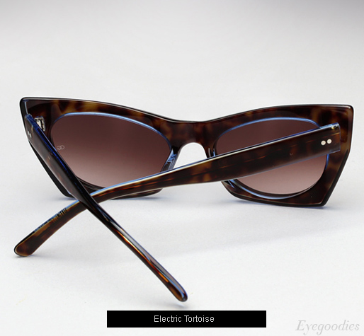 Oliver Goldsmith Orbison sunglasses - Electric Tortoise