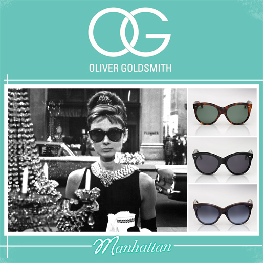 Oliver Goldsmith sunglasses | Manhattan