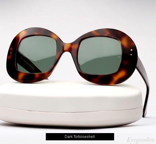 Oliver Goldsmith Uuksu sunglasses - Dark Tortoiseshell