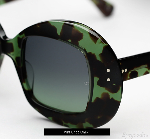 Oliver Goldsmith Uuksu sunglasses - Mint Choc Chip
