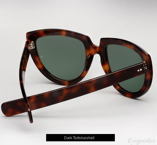 Oliver Goldsmith Y-Not sunglasses - Dark Tortoiseshell
