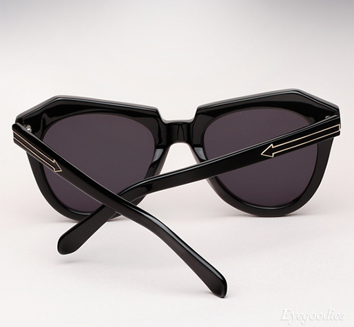 Karen Walker Number One sunglasses - Black