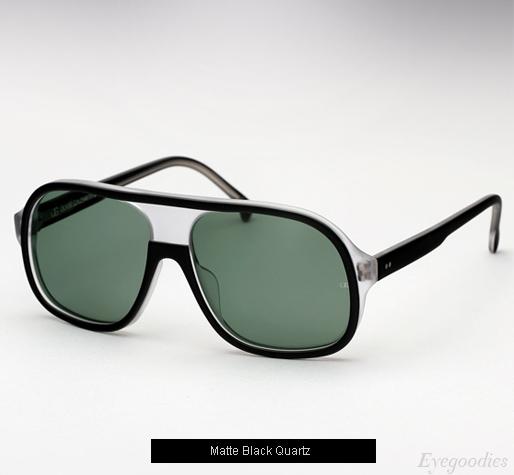 Oliver Goldsmith Carl sunglasses - Matte Black Quartz