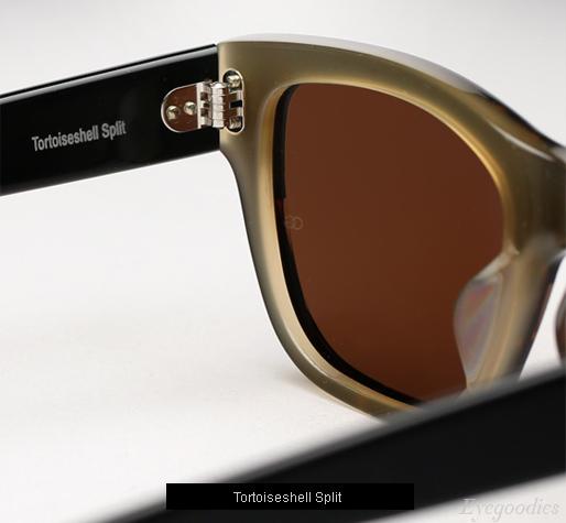 Oliver Goldsmith Consul sunglasses - Tortoiseshell Split