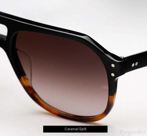 Oliver Goldsmith Glyn Sunglasses - Caramel Split