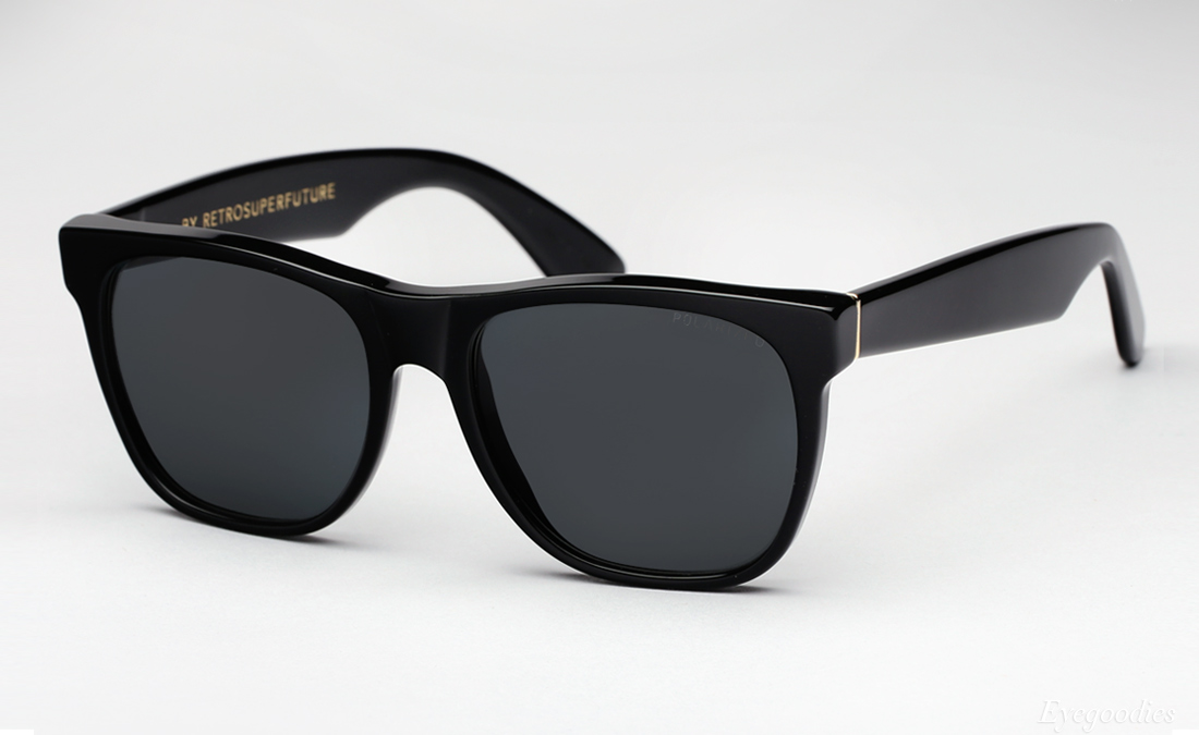 Super Basic Black Polarized sunglasses