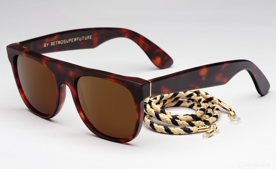Super Flat Top Small The Admiral sunglasses