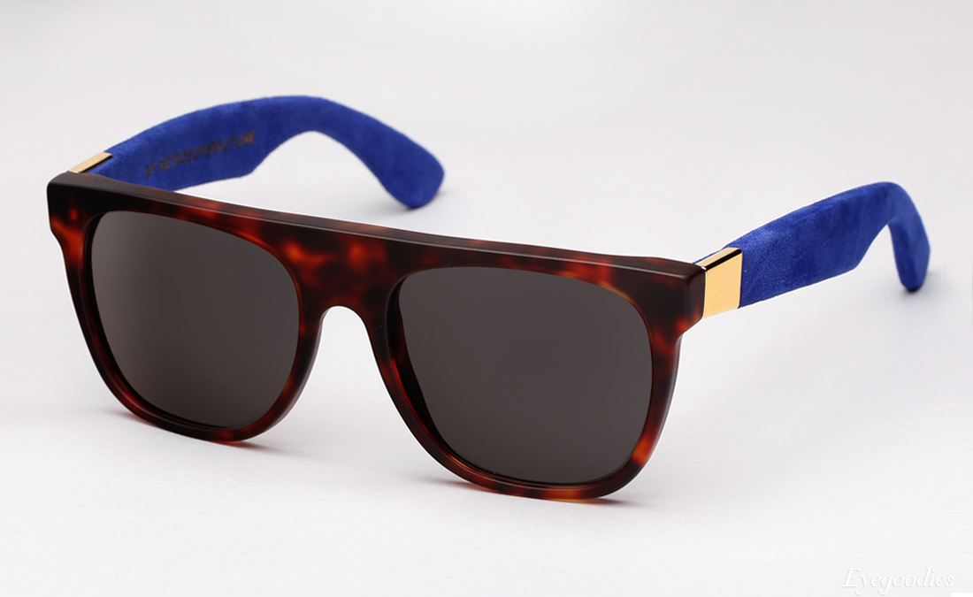 Super Flat Top Suede sunglasses