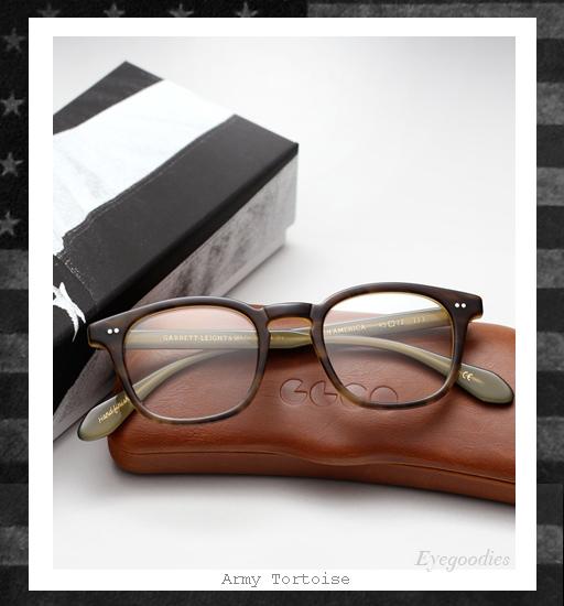 Garrett Leight x Mark McNairy Sunglasses - Amry Tortoise
