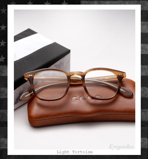 Garrett Leight x Mark McNairy Sunglasses - Light Tortoise