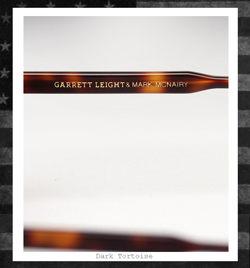 Garrett Leight x Mark McNairy Sunglasses - Dark Tortoise