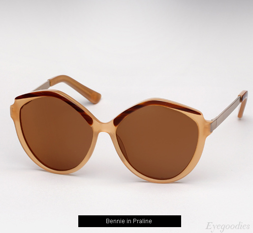 House of Harlow Bennie sunglasses - Praline