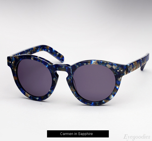 House of Harlow Carmen Sunglasses - Sapphire