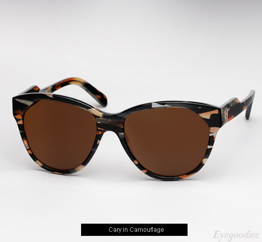 House of Harlow  Cary sunglasses - Camouflage