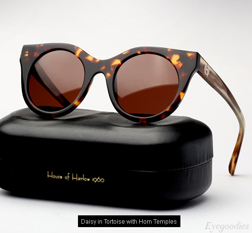 House of Harlow Daisy sunglasses - Tortoise / Horn