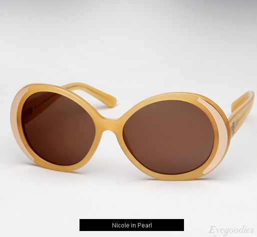 House of Harlow Nicole sunglasses - Pearl