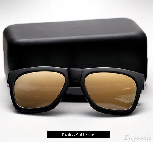 Ksubi Ara sunglasses - Black with Gold Mirror