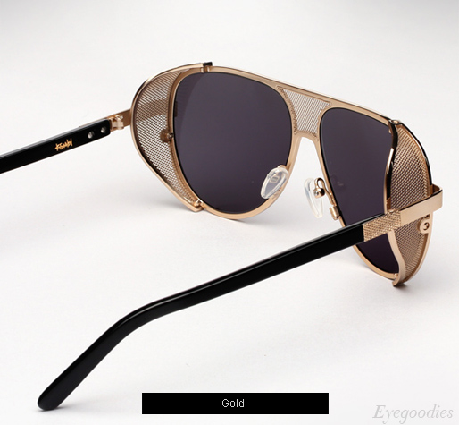 Ksubi Cisco Sunglasses - Gold