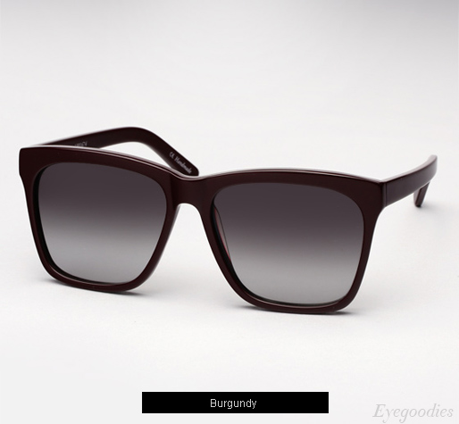 Ksubi Grus sunglasses - Burgundy