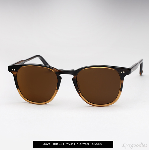 Garrett Leight Brooks sunglasses - Java Drift