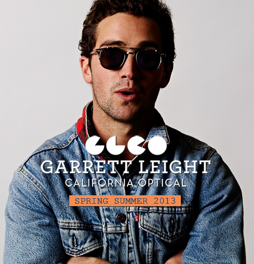 Garrett Leight California Optical Summer 2013