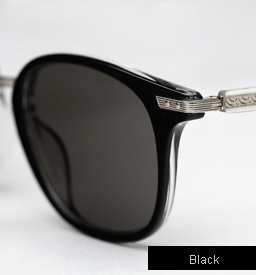 Garrett Leight Venezia Sunglasses in Black