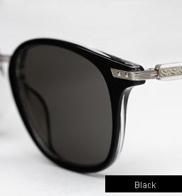 Garrett Leight Venezia Sunglasses in Black