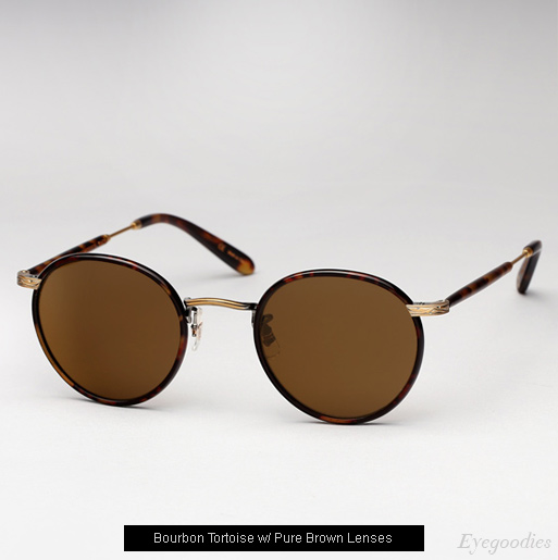Garrett Leight Wilson sunglasses in Bourban Tortoise