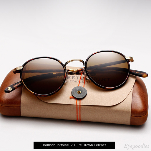 Garrett Leight Wilson sunglasses in Bourban Tortoise