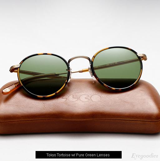 Garrett Leight Wilson sunglasses in Tokyo Tortoise