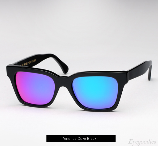 Super America Cove Black sunglasses