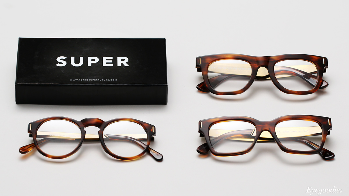 Super Optical Francis Havana Eyeglasses