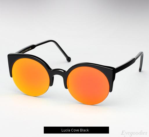 Super Lucia Cove Black sunglasses