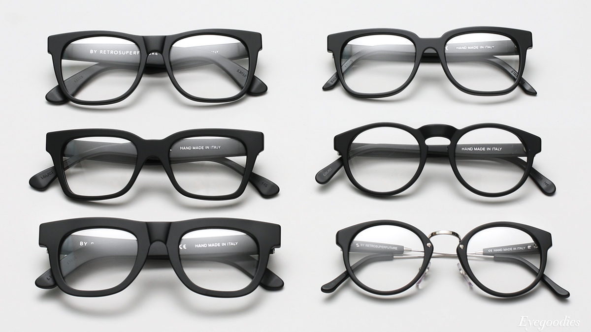 Super Optical Matte Black Eyeglasses
