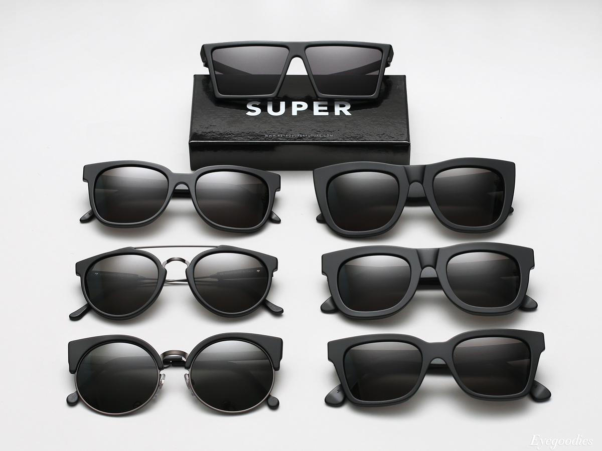 Super sunglasses Matte Black Series
