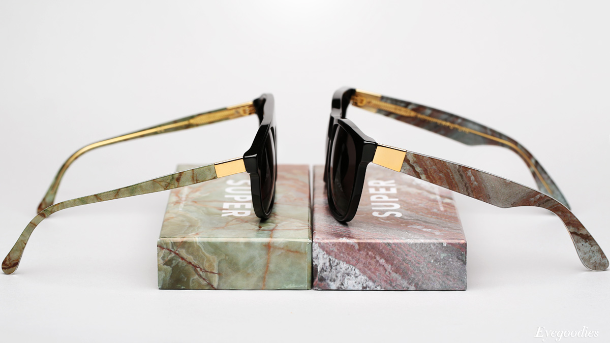 Super Racer Onice Verde and Basic Minerale sunglasses