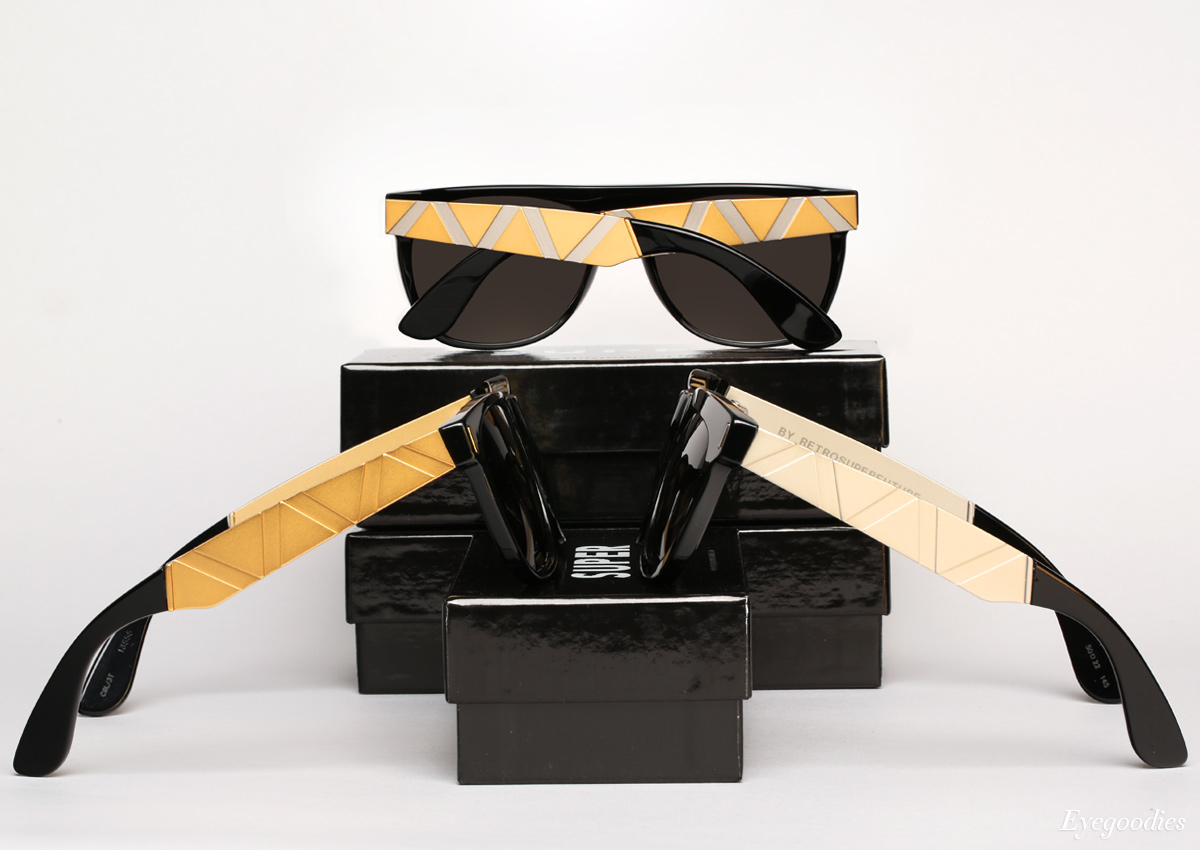 Super Saldatura Francis sunglasses | Flat Top, Basic Shape, & Ciccio
