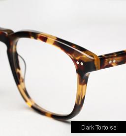 Garrett Leight Dudley Eyeglasses - Dark Tortoise