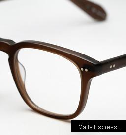 Garrett Leight Dudley Eyeglasses - Matte Espresso