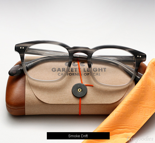Garrett Leight Dudley Eyeglasses - Smoke Drift